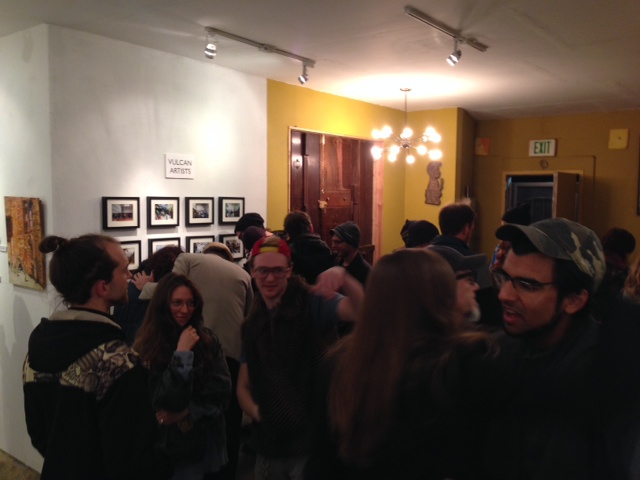 Vulcan Artists Group Show Opening Night