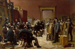 cope-charles-west-the-council-of-the-royal-academy-selecting-pictures-for-the-exhibition-1875-1875